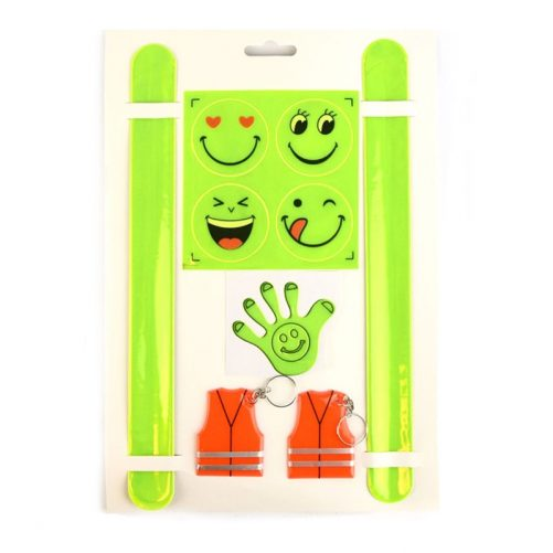 Reflexer barn storpack. Set med 9 olika sorters reflexer, LillaFilur.se