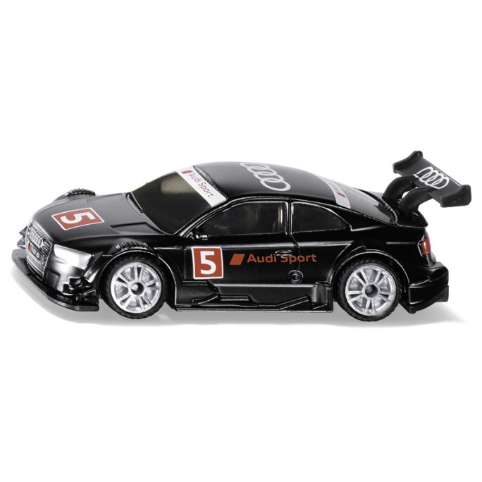 Siku Leksaksbil Audi RS 5 Racing. Svart Audi bil i metall. Beställ välgjorda leksaksbilar i metall hos LillaFilur.se