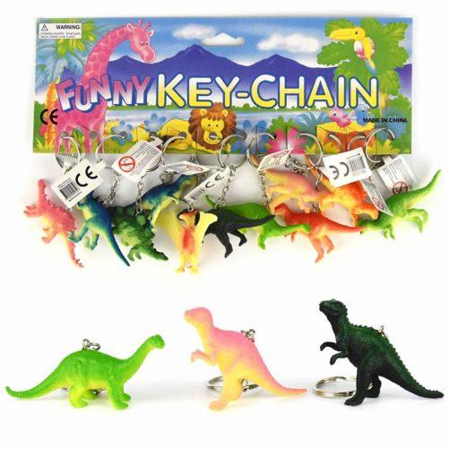 Nyckelring med dinosaurie. Söt nyckelring med dinos.