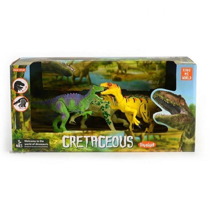 Dinosaurier familj rörliga delar. Beställ Dinosaurier leksaker hos LillaFilur.se