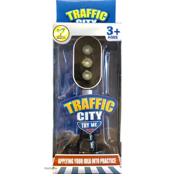 Leksak Trafikljus. Storlek 16 cm. Inklusive batterier. LillaFilur.se