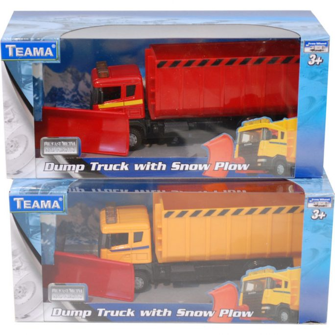 Leksaksbil Plogbil Scania
