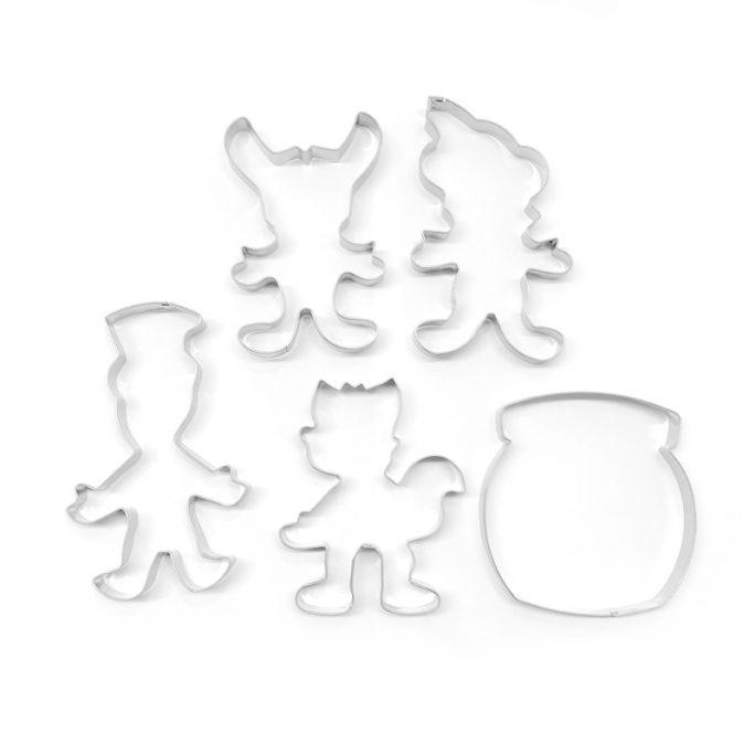 Pepparkaksformar Bamse Figurer Bakformar. Paket med 5 st pepparkaksformar med Bamse, Skalman, Lille Skutt, Katten Jansson och en burk med dunderhonung. Beställ figurer pepparkaksformar hos LillaFilur.se