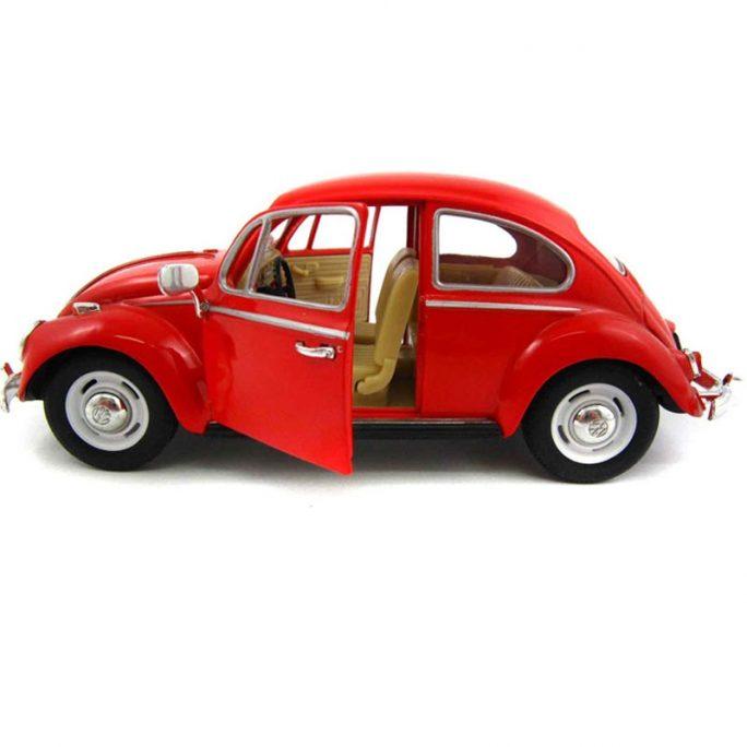 Stor leksaksbil metall. Fin röd Volkswagen Beetle Classical 1967. Röd Volkswagen Bubbla. Beställ leksaksbilar metall hos LillaFilur.se. Omgående leverans.