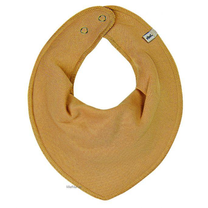 Coola babykläder och barnkläder. Mörkgula dregglisar enfärgade. Från Pippi babykläder. Drybibs storpack eller enpack. Beställ hos LillaFilur.se