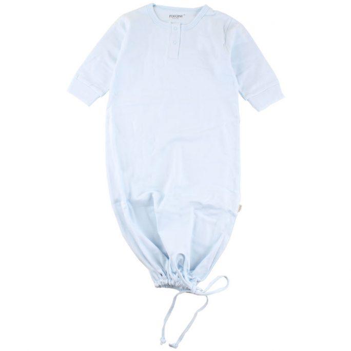 Pyjamaspåse Baby / Sovpåse / Sovklänning - Blå. Pyjamas nyfödd i storlek 50, 56 och 62. LillaFilur.se