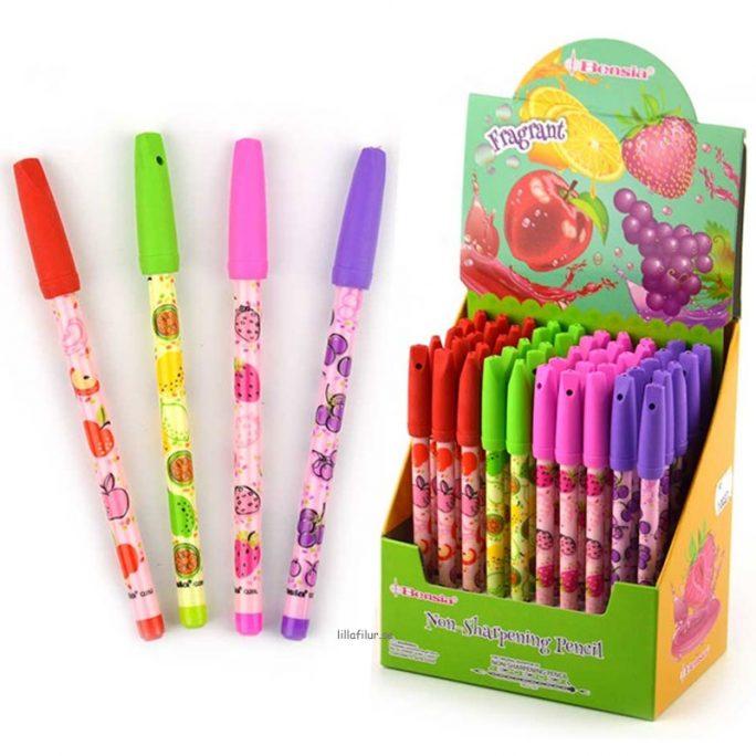 Luktsudd med penna. Doftsudd säljs i 1-pack eller 4-pack. Beställ luktsudd och luktpenna mm hos LillaFilur.se