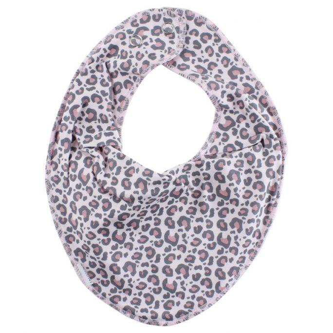 Fixoni babykläder och barnkläder. Fixoni Infinity Bib är en rosa leopardmönstrad dregglis med skyddande membran som håller babyn torr om den dregglar eller kräks. Beställ dregglisar, bibbar och haklappar på LillaFilur.se