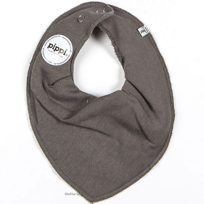 Pippi dreggellappar grå enfärgade. Finns i 1-pack eller storpack. Beställ dregglisar Pippi hos LillaFilur.se