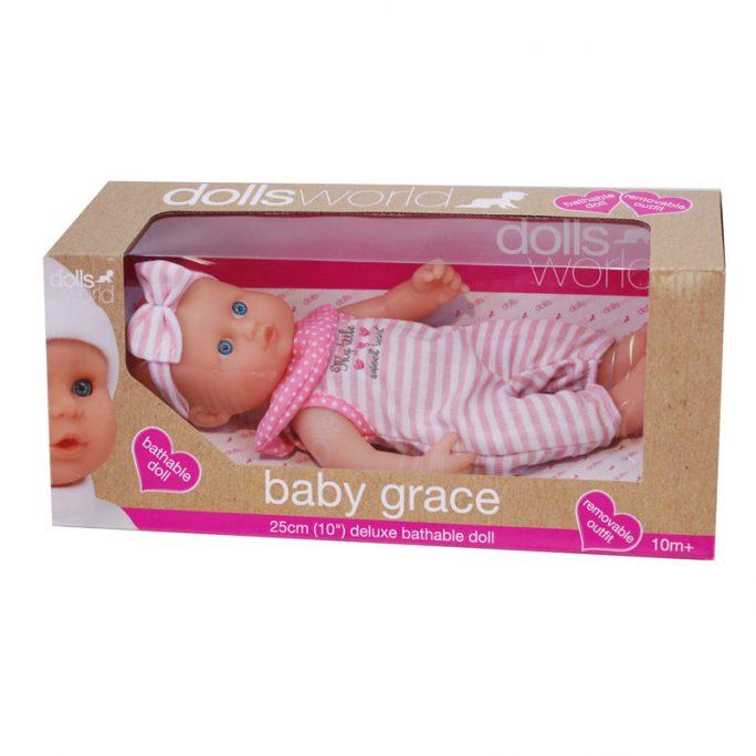 Docka baby baddocka 25 cm. Docka som kan bada. Passar barn från 10 månader. Köp dockor och docktillbehör på LillaFilur.se