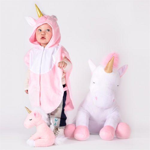 Vit stor nalle enhörning unicorn. Beställ på LillaFilur.se Fraktfri leverans.